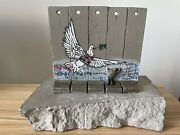 Banksy Walled Off Hotel Peace Dove Wall Piece Sculpture With Coa