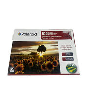 Polaroid 500 Piece Sun And Sunflowers Puzzle New Sealed