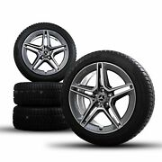 Amg 19 Inch Mercedes Rims S-class W223 V223 Winter Complete Wheels New