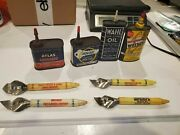 Lot Of 4 Mobil Shell Gas Oil Station Bottle And Can Openers Atlas Liquid Wahl