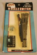 Atlas 2705 N Scale Code 80 6 Right Hand Remote Switch Bew Sealed