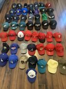 New Era And Mitchell And Ness Adjustable/dad Hat Lot 51 Hats Total Used