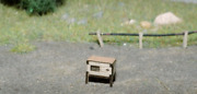 N Scale Train Model Of Rabbit Hutch For 1 Animal Accessories Laser Cut Kit