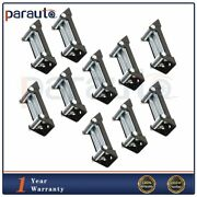 High Quality 4 Way Roller Cable Guide Winch Roller Fairlead 4000-5000lbs 10pcs