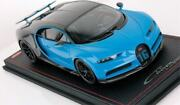 Bugatti Chiron Sport Open Wing French Racing Blue By Mr Collection In 118 Scale