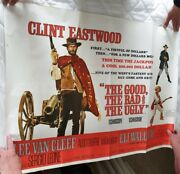 The Good The Bad And The Ugly 1966 Original Uk Quad Poster