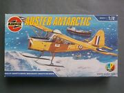 Airfix 1/72 Auster Antarctic With Skis Wheels Floats Model Airplane Kit Complete