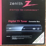 New Open Box Zenith Digital Tv Tuner Converter Box Dtt901 With Remote And Cables