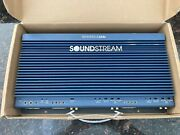 Old School Soundstream Reference 644s Car Amplifier 4 Channel Amp - Made In Usa