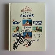 Sistar 'sweet And Sour' Hyorin/hyolyn Hand Signed Autographed Specal Album + Pc