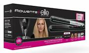 Rowenta Liss And Curl Sf4522f0 Ironing Of Hair Ailsa Ondula And Crimps Plates Long