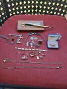 Vintage Gold-filled And Sterling Silver Jewelry Lot For Scrap Or Wear 109 Grams J1