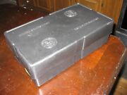 Black Monster Box For 1/10 Ounce Gold Bullion With Inserts, No Tubes, No Coins