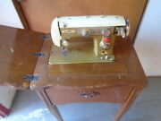 Morse Zig Zag Sewing Machine With Cabinet Used