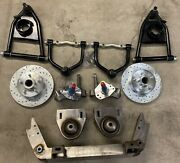 1964-70 Ford Mustang Ii Power Front End Suspension 2 Drop Kit