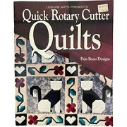 Quilting Patterns Book Quick Rotary Cutter Quilts Paperback Leisure Arts 1994