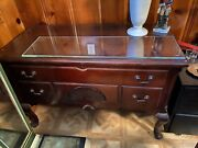Antique Mahogany Chippendale Ball And Claw Cedar Blanket Chest Bargain Furniture