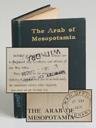 Gertrude Bell - The Arab Of Mesopotamia British War Office Library Copy