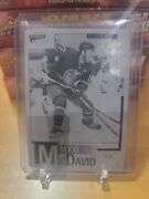 2020-21 Upper Deck Extended Connor Mcdavid Printing Plate 1 Of 1mint
