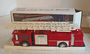 Hess 1986 Fire Truck Collectible Bank Toy