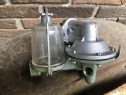 New 1940-1948 Ford V-8 Fuel Pump Assembly With Glass Bowl 59a-9350