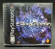 Star Ocean The Second Story Ps1 Sony Playstation Authentic Original Tested