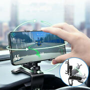 Car Dashboard Mobile Cell Phone Gps Mount Cradle Holder Stand Accessories