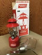 Coleman 200a Led Lantern 1/2 Size Limited Model Edition Brand New Japan