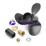 For Mercury 60 -125hp 48-77344a45 New Aluminum Outboard Propeller 13 1/4 X17