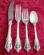 Wallace Grande Baroque Sterling Silver Place Setting