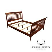 Ethan Allen American Impressions Collection Cherry Queen Sleigh Bed B