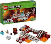 Lego 21130 Minecraft The Nether Railway Toy For Children 8 Years Old Over