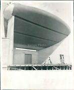 1957 Clearwater Bandshell St Petersburg Times Fl Coachman Business Photo 8x10