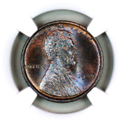 1909 Vdb Ms66 Bn Ngc Lincoln Wheat Penny Registry Quality Collection