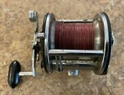 Vintage Penn 209 Level Wind Reel Made In Usa