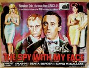 The Spy With My Face Man From Uncle 1965 Original Uk Quad Poster
