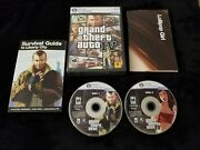 Grand Theft Auto Iv Pc Dvd Gta 4 Complete W/ Manual And Poster
