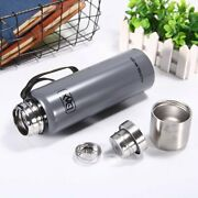 Stainless Steel Thermos Insulated Water Bottle Travel Mug Coffee Tea Cup Vacuum