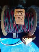 100 Ft 12/2 With Ground Submersible Well Pump Wire Cable, Solid Copper. Twisted