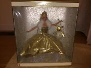Barbie 2000 Mattel Holiday Celebration Special Year Edition Doll 28269 Ds24