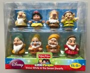 Fisher Price Little People Snow White And The Seven Dwarfs Figures Disney