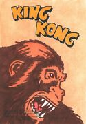 Breygent Classic Sci-fi And Horror Posters Series 1 King Kong Sketch Card