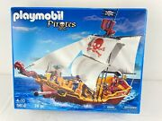 New Sealed Playmobil Pirates 5618 Red Serpent Pirate Ship 2013 Nos