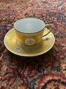 New Raynaud Limoges Duchesse Tea Cup And Saucer-great Deal