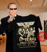 Van-halen 47 Years 1974 2021 Thank You For The Memories Signature T-shirt Funny