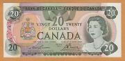 Canada 20 Dollars Unc 1979 Bc-54a P-93a Lawson-bouey Banknote