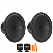 Kicker 15 Inch Comp R Woofer Includes Two 48cwr152 Virtual 2 Ohm Package