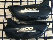 Kawaski Z1 900 1975 Side Covers With Emblems Both Right And Left