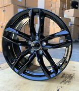 19 Rs6 Style Gloss Black Wheels Fit Audi A3 A4 A5 A6 A7 S3 S4 S5 S6 S7 Rs3 Rs5