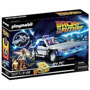 Playmobil Back To The Future Delorean Car Building Set 70317 Marty Doc Einstein